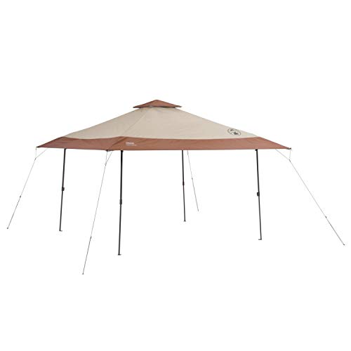 Coleman Canopy Tent | 13 x 13 Sun Shelter with Instant Setup, Khaki