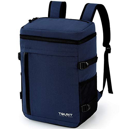 TOURIT Cooler Backpack 32 Cans Large Capacity Insulated Backpack Cooler Bag for Men Women to Picnic, Hiking, Camping, Fishing, Cycling