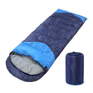 YOUMAKO Backpacking Sleeping Bag for Adults ad Kids - Lightweight, Waterproof, Comforable for Spring Summer Fall - Hiking, Traveling, Camping.