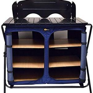 Faulkner 49583 Camp Cuisine Portable Kitchen