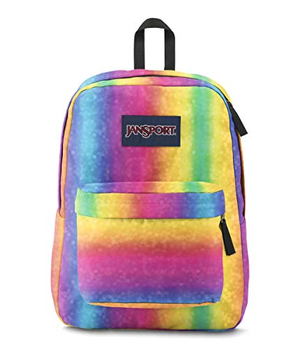 JanSport Superbreak Backpack, Rainbow Sparkle