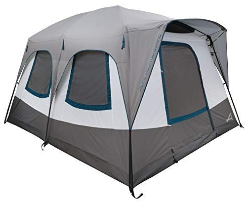 ALPS Mountaineering Camp Creek Two-Room Tent, Charcoal/Blue