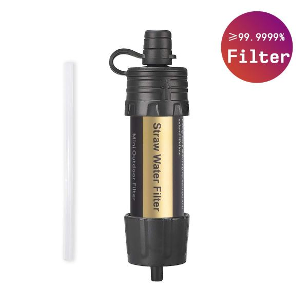 Easiestsuck Portable Mini Water Filter Straw 0.01 Micron,Emergency Water Filtration System for Camping, Hiking and Backpacking
