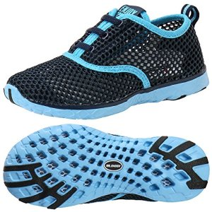 ALEADER Kid's Quick Dry Water Shoes Comfort Walking Sneakers Blue/LtBlue 12 M US Little Kids