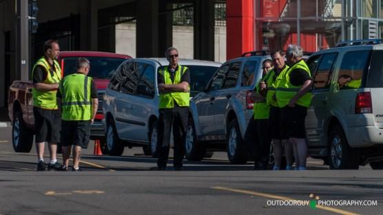 Security Meeting - curbside