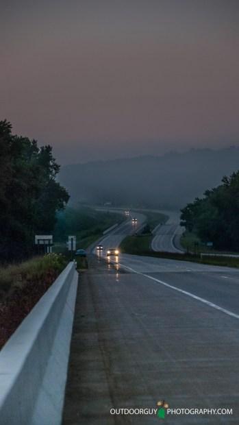 Foggy August mornings this last week
