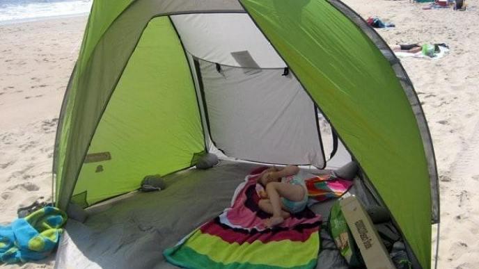 best baby beach tent