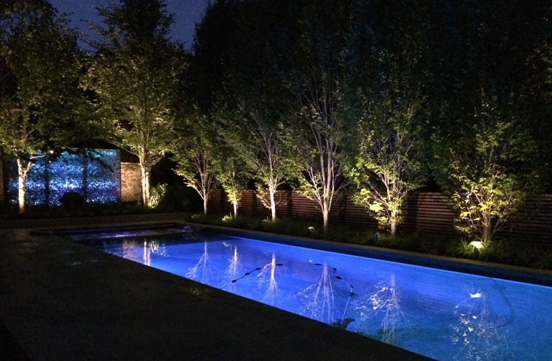 led and smart lighting outdoor