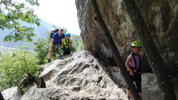 Klettersteig Soca Quelle : Colodri klettersteig arco: einstieg für familien outdoorkid