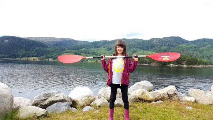 paddeln in Norwegen