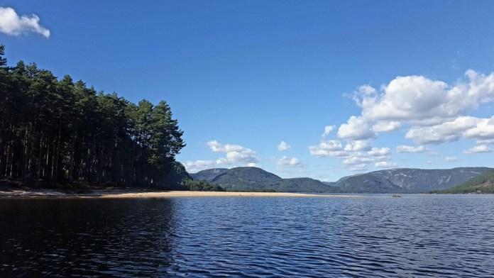 paddeln Camping Neset 15