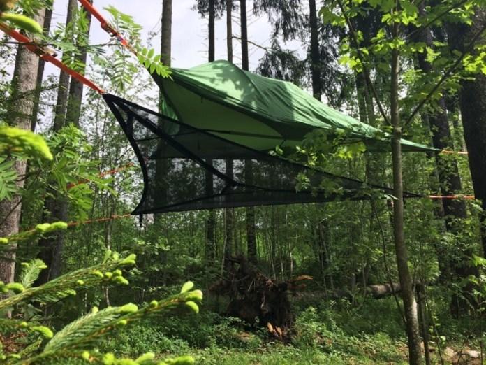 Schwarzwaldcamp Baumzelte