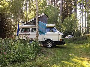 Schwarzwaldcamp Bulli Platz