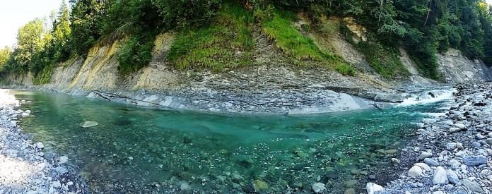 Bregenzerach baden wandern