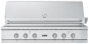 Viking 54 inch grill with burner VGIQ554241NSS