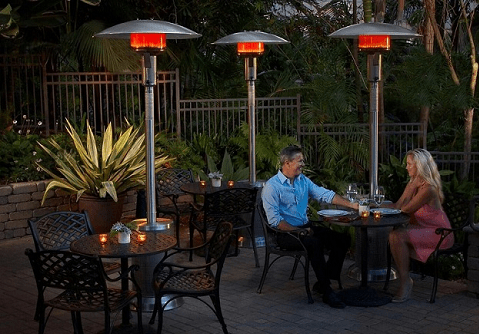 patio heaters and infrared heaters