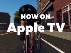 AppleTV de Zwift (゚∀゚)キタコレ!!