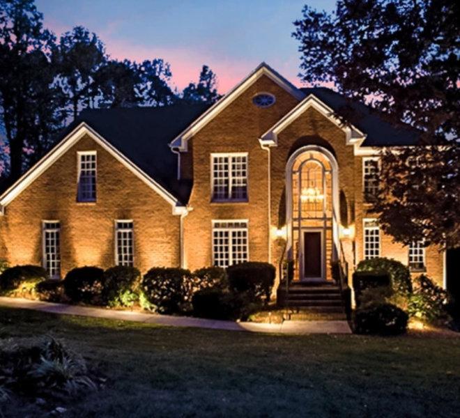 Grand house lighting