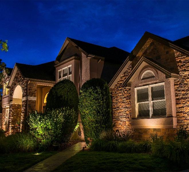 home shrub light
