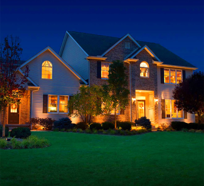 home exterior illumination
