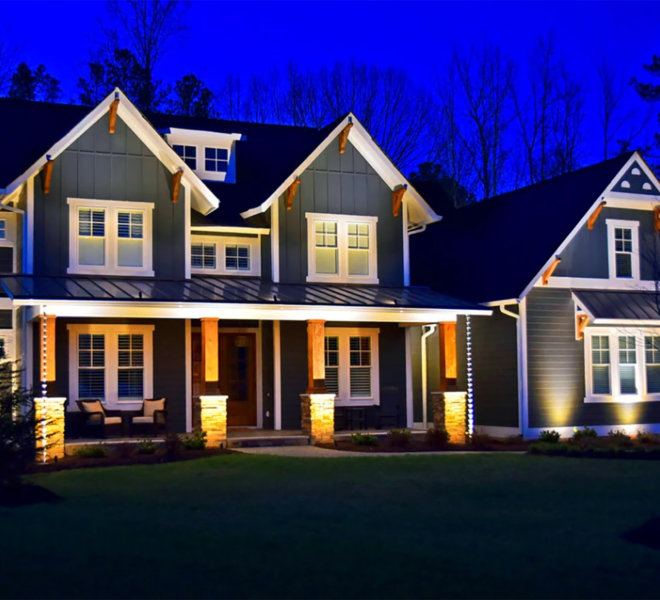 home column lighting