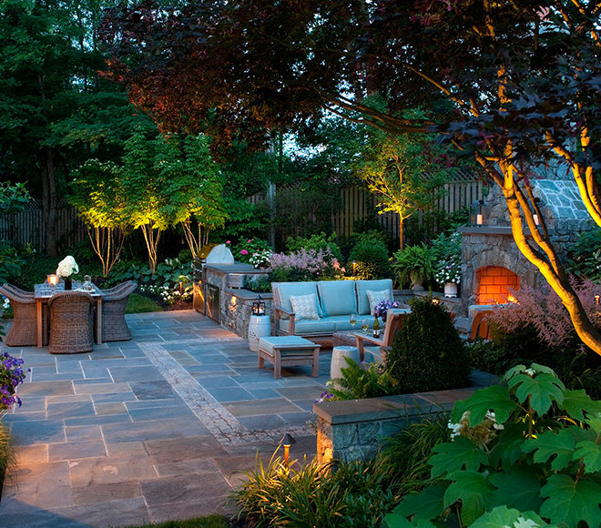Landscape and patio space lighting