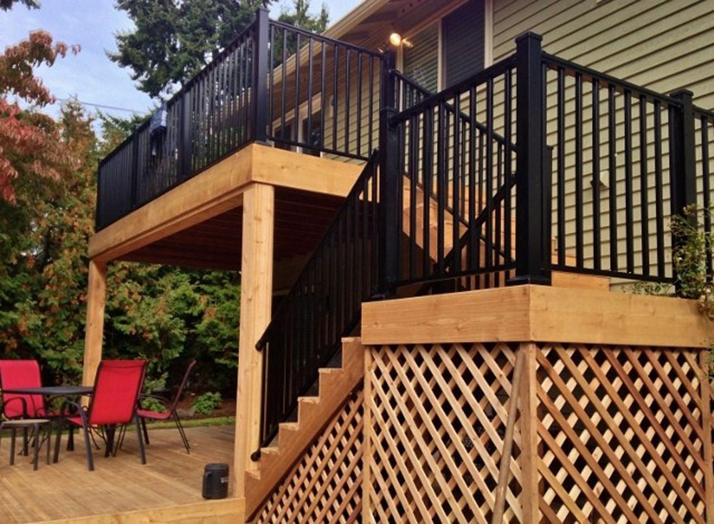 deck installation factors