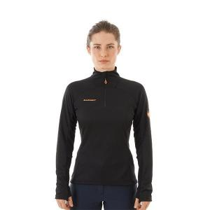 [MAMMUT] Women's EG Moench Adv HZ LS / 彈性半門襟長袖上衣 (MG109940-0001)