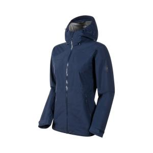[MAMMUT] Convey Tour HS Hooded Jacket 女 GTX 防水連帽外套 亞版/海洋藍 (1010-28800)