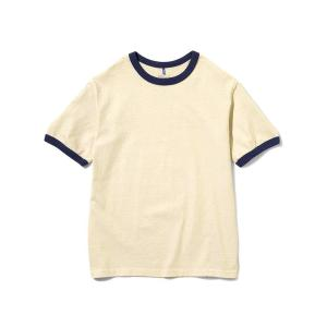 [Good On] S/S Ringer Tee/Navy