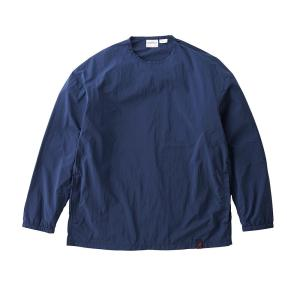 [GRAMICCI] PACKABLE CAMP L/S TEE / DOUBLE NAVY 海軍藍/ 中性款 (2053KNJ)
