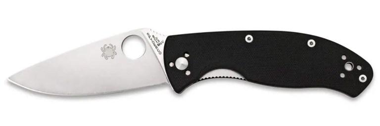 Spyderco-Tenacious-8Cr13MoV-G10-Liner-Lock-gerade-1152x384
