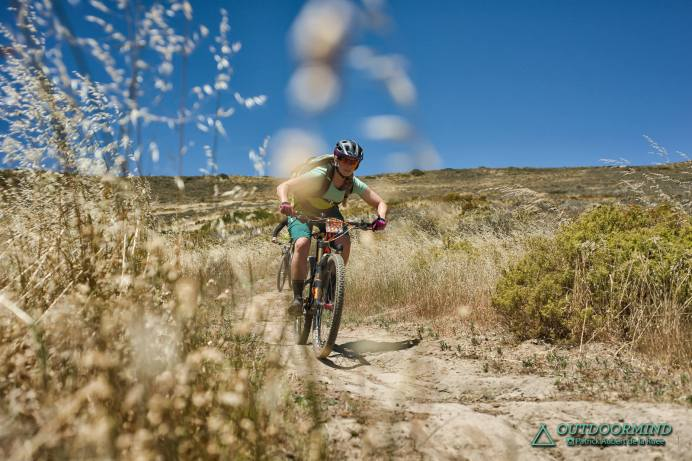 Roxy auf den flowigen Trails in Contermanskloof