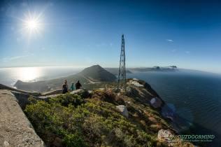 Blick auf das Kap der Guten Hoffnung am Cape Point
