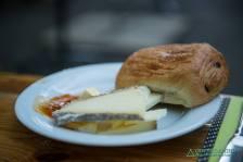 Leckeres Frühstück Frankreich