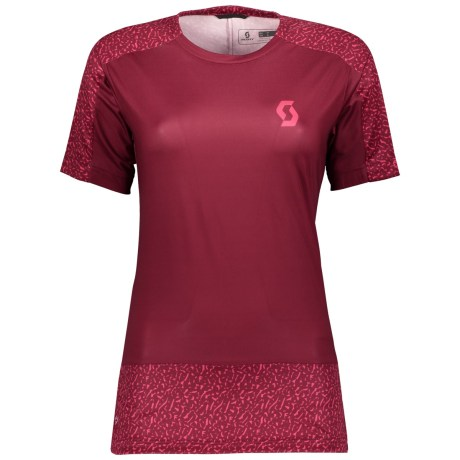 SCOTT Trail 20 S/SL Womens Shirt in tibetan red