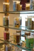 Vielfältige Teeauswahl im Hotel Goldener Berg