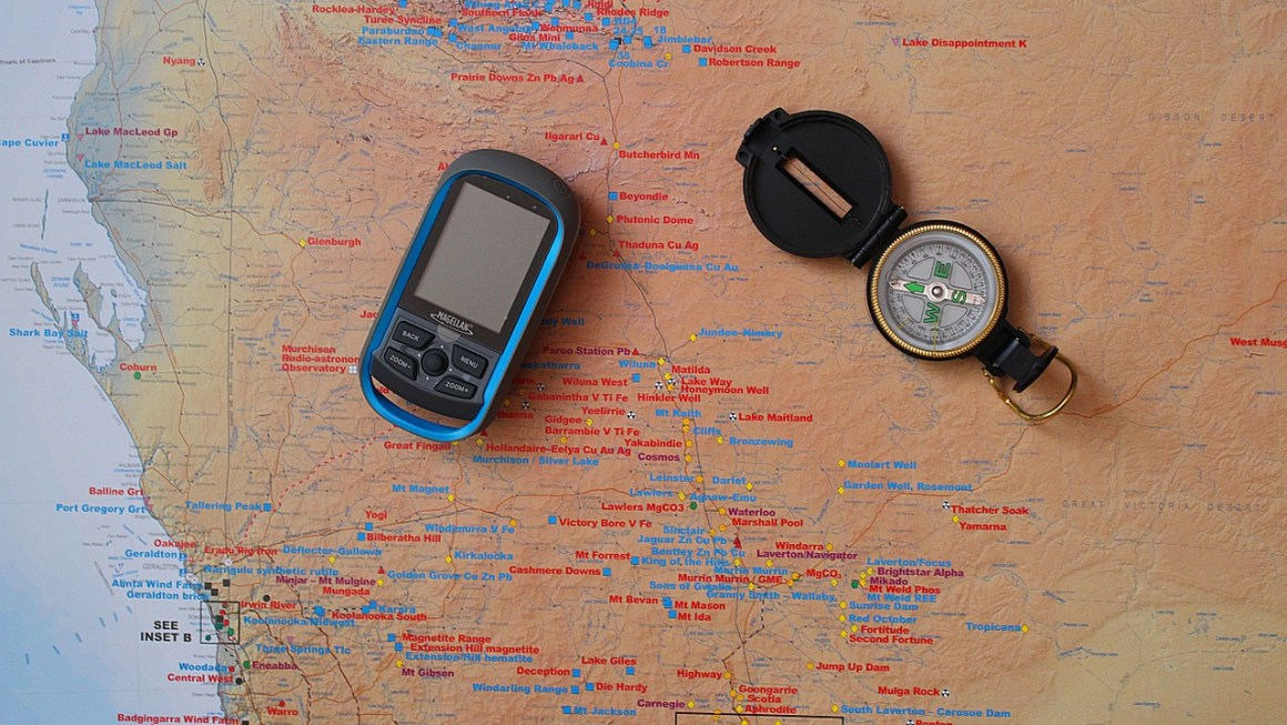 Outdoor GPS Navigationssystem