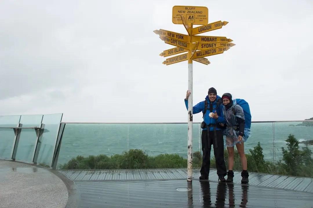 Te Araroa Trail: Ziel in Bluff