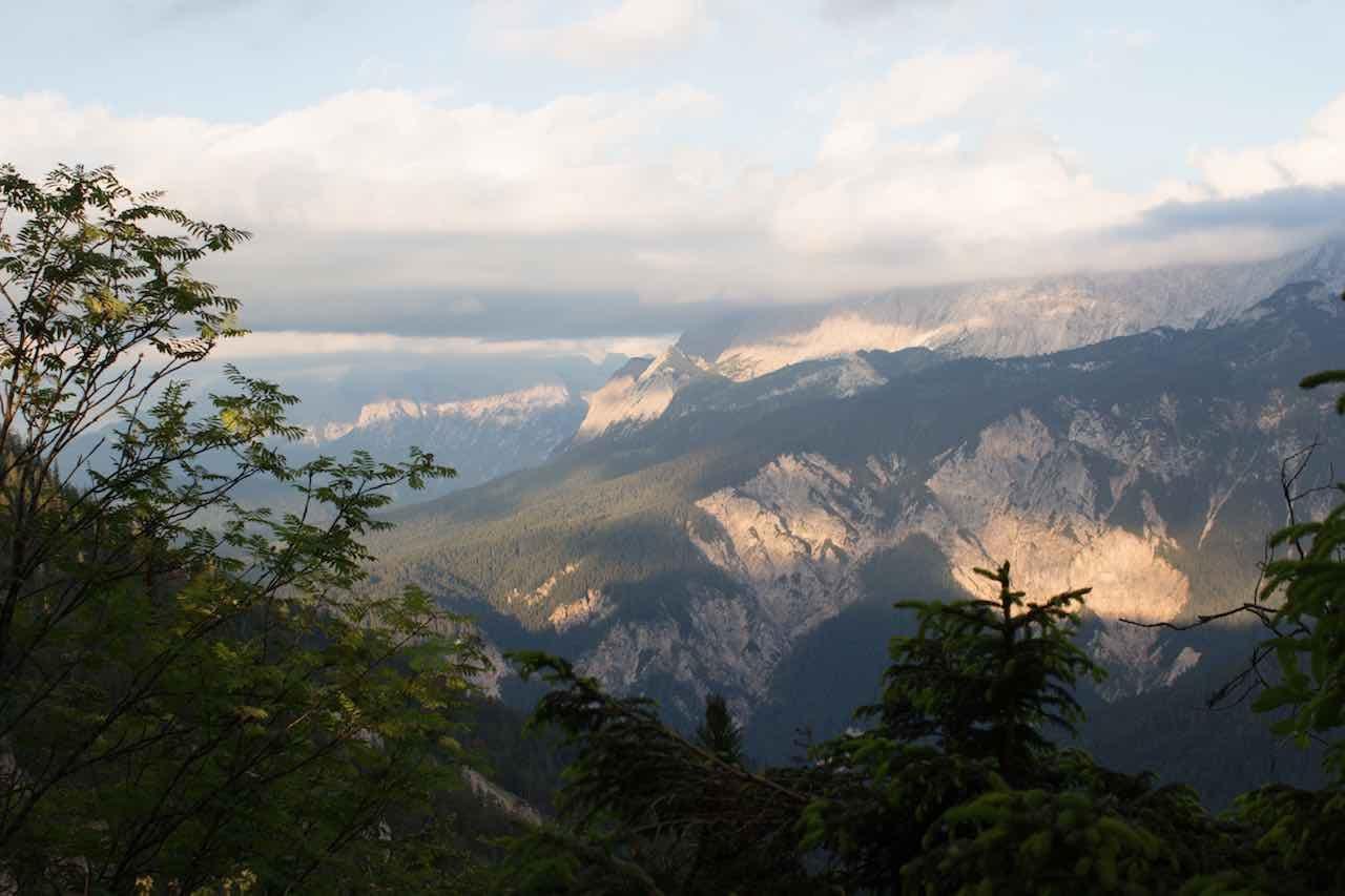 Aussicht Alpenüberquerung L1