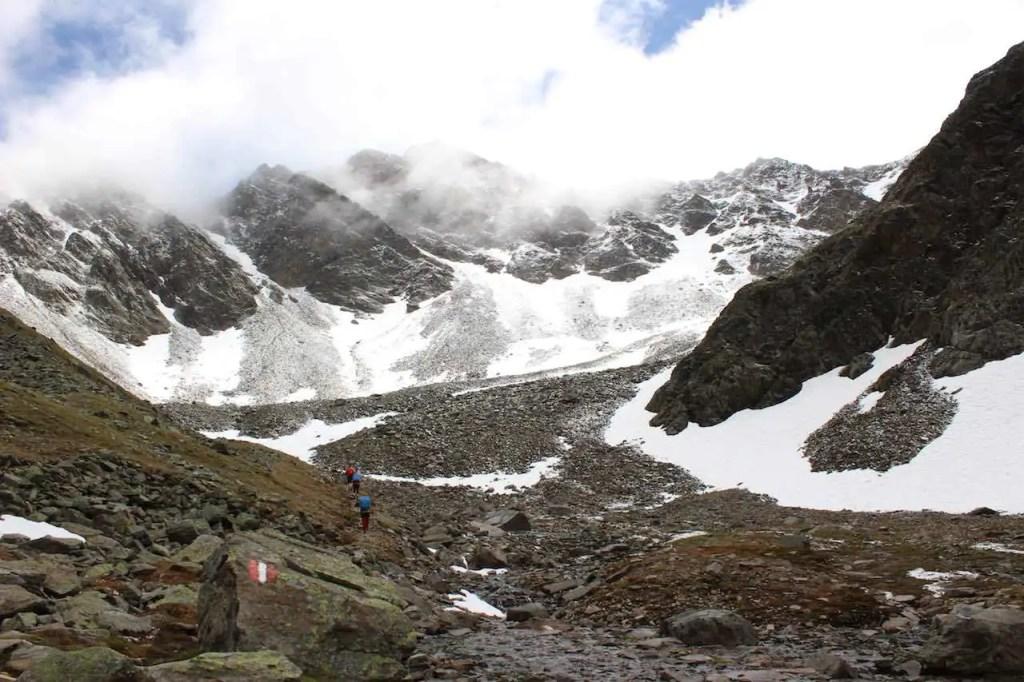 Alpenüberquerung L1 Planung