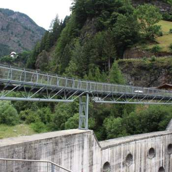 Brücke Alpenüberquerung