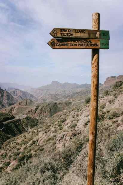 Gran Canaria Wegweiser Fernwanderung
