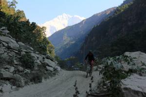 Kathy und Annapurna