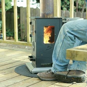 wood pellet patio outdoor heater pick