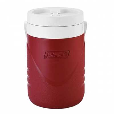 Coleman 1 Gallon 3.8L Polylite Jug red