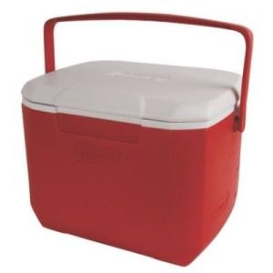 Coleman Cooler 16QT red