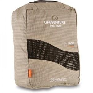 Lifeventure Microfibre Comfort Towel XL beige