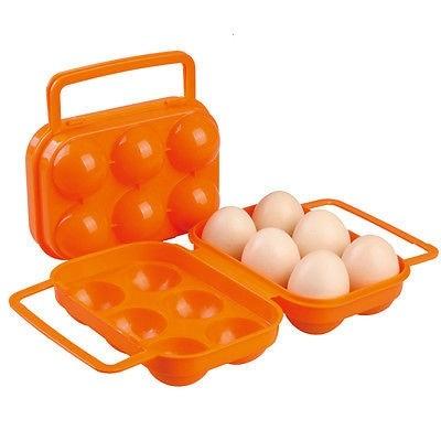 ODP 0039 Plastic Eggs Container orange