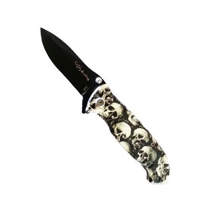 ODP 0064 Folding Knife Skull